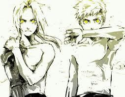 Ed and Al Elric, as usual ^^