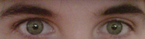 The only picture I have of me on my computer is of my eyes [because they're kinda weird], does that count? Edit: Okay here bạn go I'm not sure why I took this.