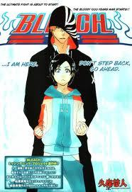 only character i could find that i knew the name of sorry heres ichigo kurosaki and i think tamaki from bleach