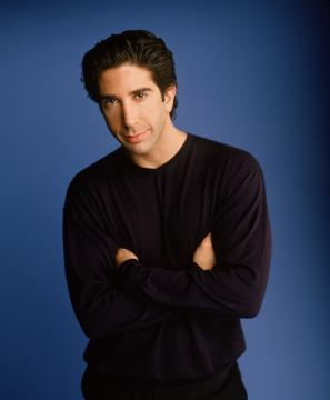 David Schwimmer!! Who plays Ross on Friends!!