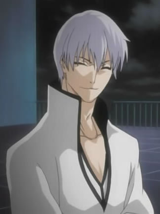 gin ichimaru from bleach has absolutely no respect for others.