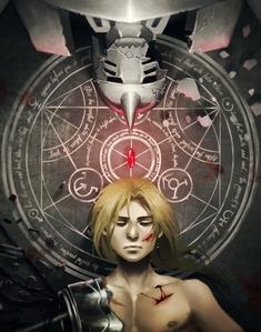 2003 Fullmetal Alchemist (I love the picture :3)