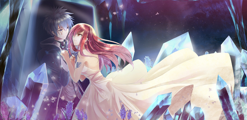 Fairy Tail Erza And Jellal.
