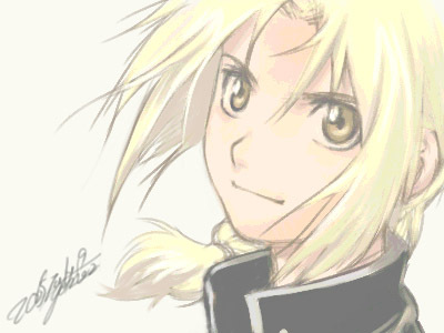 Edward Elric. But trust me, he's too beautiful for this contest, so it's really not fair for the others. :3
