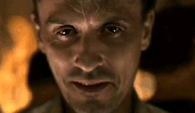 I don't have a creepy pic of Matthew, so I have this pic of Knepper. Pretty Creepy, but sexy!! <33