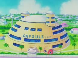 Capsule corp! (Check this guy out. I copied one au two of his creations XDDD)