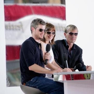 Rob and Eric Dane. Dont know the girl in the middle