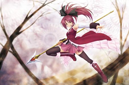 Kyoko Sakura from Puella Magi Madoka Magica