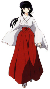 Kikyo from inuyasha. The کتیا, کتيا deserved it.