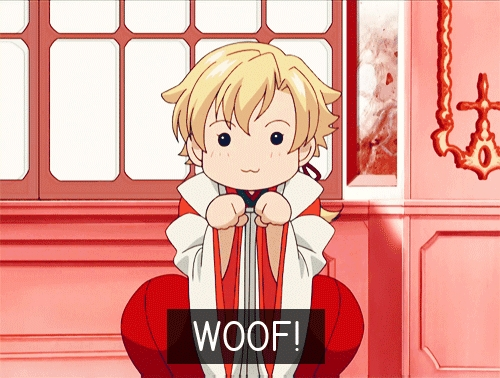 Tamaki-senpai with his puppy eyes! X3