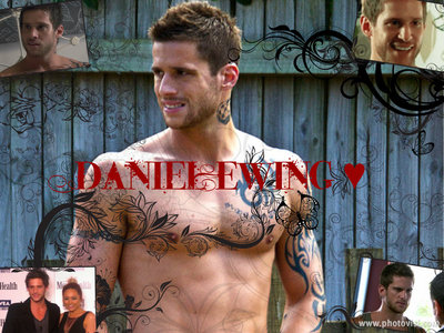 A very simple collage of Daniel Ewing I made :)