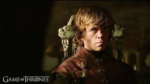 Game of Thrones is one of my fav shows. and I cinta Tyrion Lannister