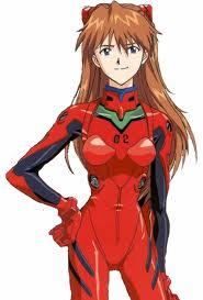 Asuka Langley Soryu. 支持 if 你 now what 日本动漫 she's from! No cheating 由 using Google!