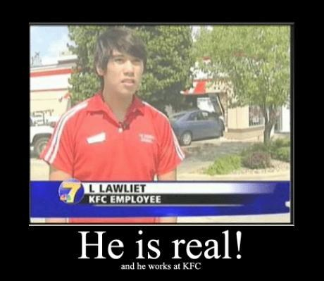 L Lawliet! (I found the story too.. http://www.kwwl.com/global/story.asp?s=10888033 )
