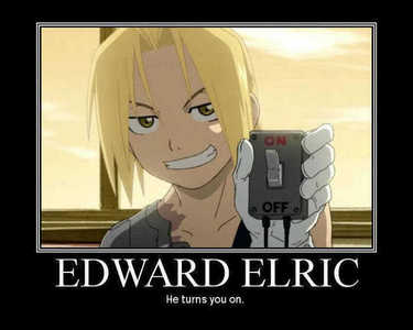 Kyo from FB and Edward from FMA, mainly Edward ^^