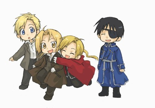 Well, since I'm a high school student with over-protective and sheltering parents, I don't have a whole ton of time to watch anime...except for at night XD I actually just got finished re-watching FMA episodes 46-51 + Conqueror of Shamballa. Yep. I think I'll sleep in Study Hall tomorrow- I mean today.