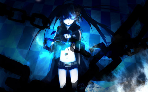 My last one is Black Rock Shooter. Finished it in 1 session since it was only 8 episodes