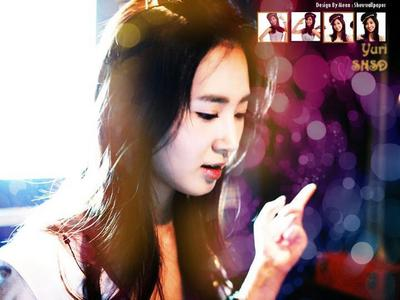 my lovely fave member in SNSD Yuri..^^