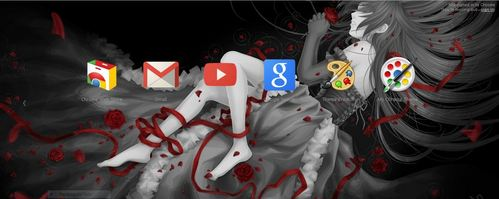 This my Google chrome theme.