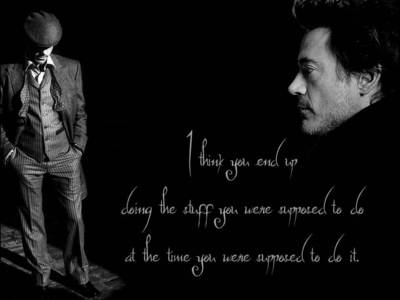 mine one wit Downey quotation