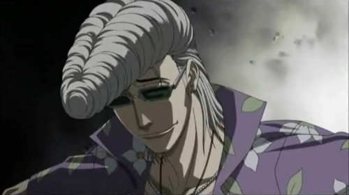 "Tatsuya Himekawa with his ""Pompadour hairstyle"" from Beelzebub"