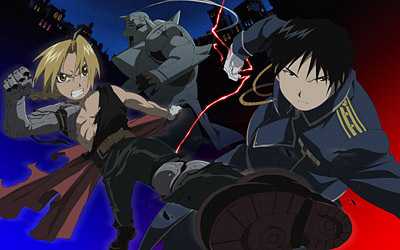 Fullmetal Alchemist. My brother told me about it, so I watched it.