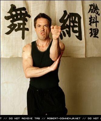 Rob practising Wing Chun