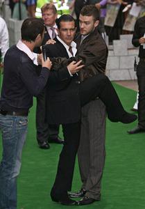 Antonio Banderas and Justin Timberlake XD