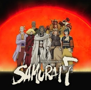 Samurai 7~ its an Аниме that isnt very well known i dont think but it has very good fight scenes and it is funny but it can be sad sometimes too. it is also fairly short but its still very good.i think you'd like it~