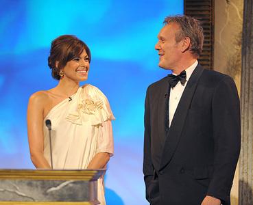 Tony Head and Eva Mendes