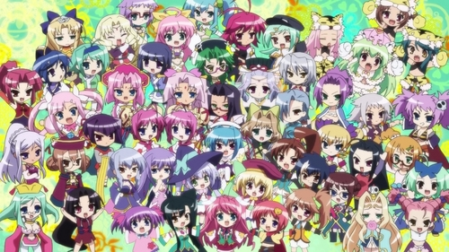 All the girls from Koihime Musou ^^