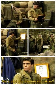 Matti dressed in army. :)