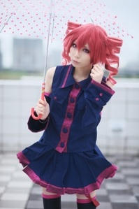 This super-duper-awesome cosplay of the best UTAU ever, Kasane Teto!