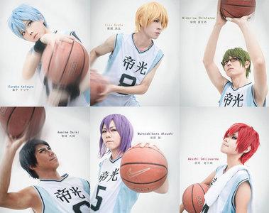 "The ""[i]Generation of Miracles[/i]"" from Kuroko no Basket."