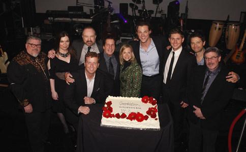 Full Cast of SUPERNATURAL! Jensen Ackles, Misha Collins and Jared Padalecki!