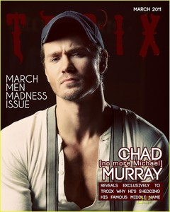 Chad Michael Murray (and Lucas Scot!). I don't really care much about him now.