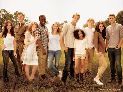 The Hunger Games cast <33