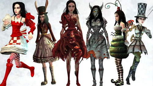 Which of these dresses should I dress for Halloween? I'm going to be Alice from madness returns