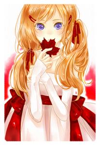 mine is Fem!Canada from Hetalia fanart XD shes very shy
