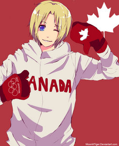 Ok im unique no one is dressing as a hetalia character ok im dressing as Canada from Hetalia picture is what im somewat gonna look like.