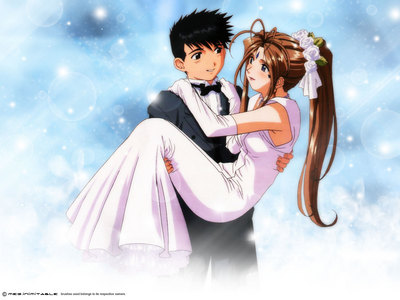 I think I would have it made if I married Belldandy from Ah! My Goddess.