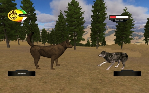 how to find a mate in wolfquest app