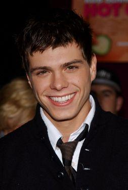My pretty boy, Matt wearing a tie. <333