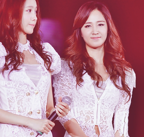 Yoona and Yuri best forever friend<3