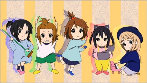 Tittle anime: K-ON! Version: Little kids Cheerful, Cuteness: 95% My শীর্ষ 10 পছন্দ anime. Note: (Guys if u think its nice vote as best answer Please!!!)
