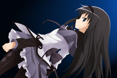 Akemi Homura-saan~ *0* She's the most beautiful character in my eyes QmQ