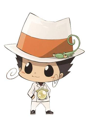 Reborn from KHR! He's only 40 cm.....