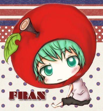 Chibi Fran from KHR! He's sooooo cute!!!!!!<3