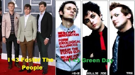 track Green دن and Foster The People down and meet them :)