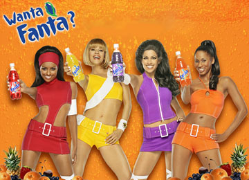 Mr. Pibb ROCS - when I can find it. and Fanta girls are pretty hot